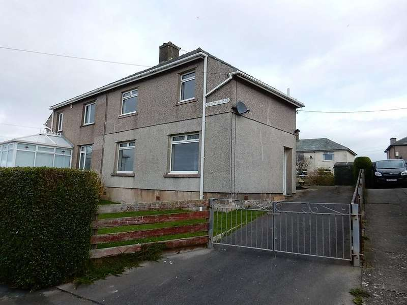 3 Bedrooms Semi Detached House for sale in Skiddaw Avenue, Maryport