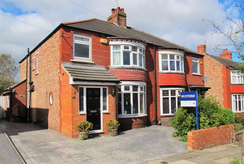 4 Bedrooms Semi Detached House for sale in Grosvenor Road, Linthorpe, Middlesbrough, TS5 5BU