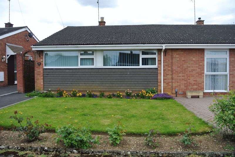 2 Bedrooms Semi Detached Bungalow for sale in Ellesmere Close, Hucclecote, Gloucester