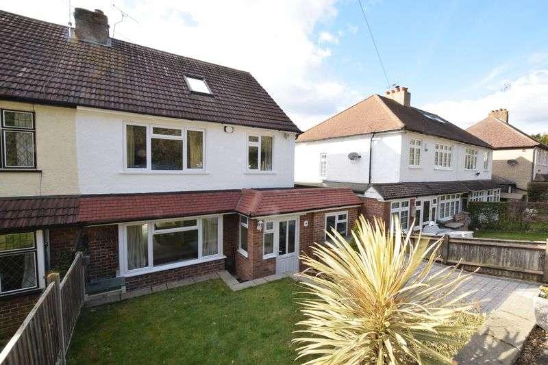 4 Bedrooms Semi Detached House for sale in Christies Avenue, Sevenoaks
