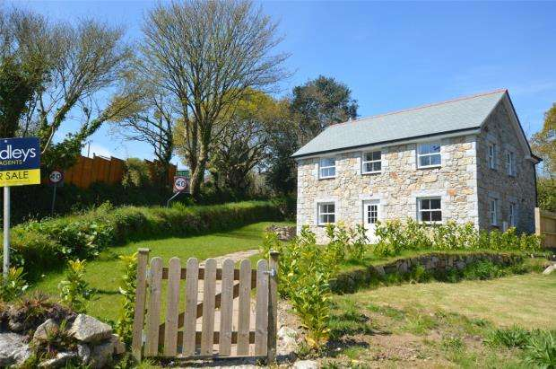 3 Bedrooms Detached House for sale in Brill Water, Constantine, Helston, Cornwall