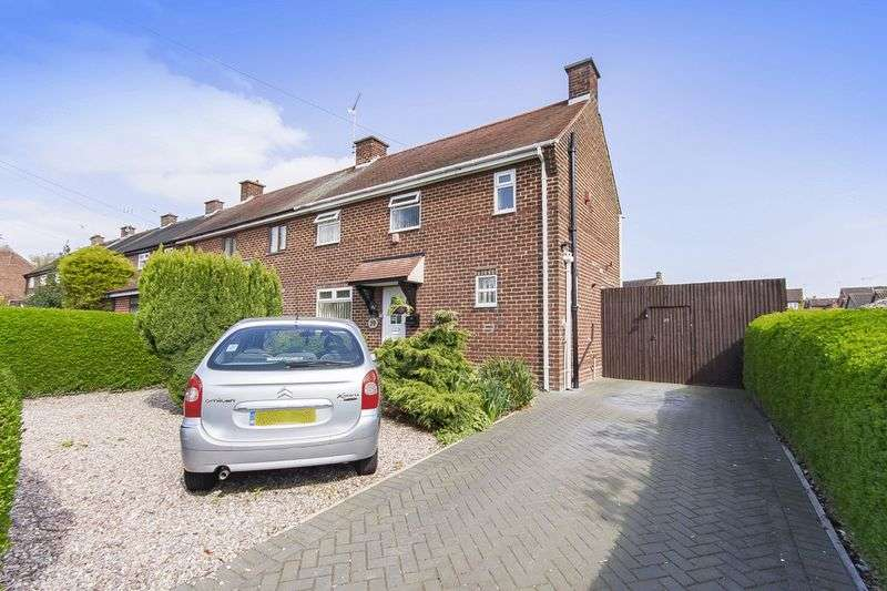 3 Bedrooms Semi Detached House for sale in EGGINTON ROAD, ETWALL