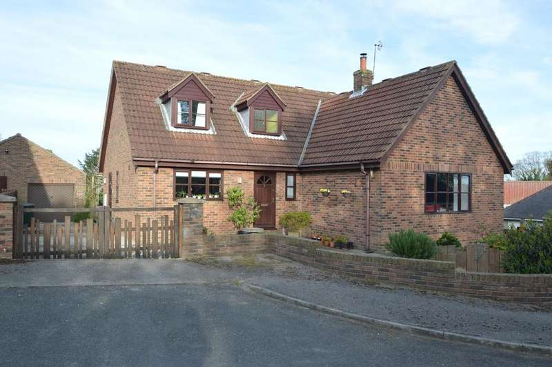3 Bedrooms Detached House for sale in Rectory Close, West Heslerton, Malton YO17