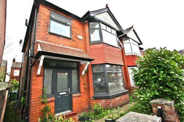 3 Bedrooms Semi Detached House for sale in Sedgley Ave, Prestwich