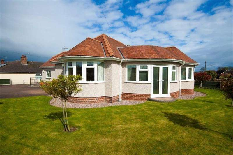 3 Bedrooms Detached Bungalow for sale in Camberley Drive, Wrexham, Wrexham