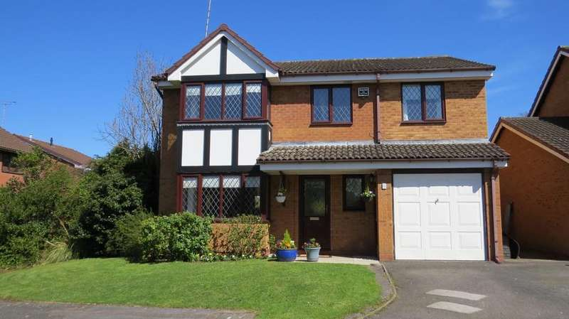 5 Bedrooms Detached House for sale in Garlick Drive, Kenilworth, Kenilworth, Warwickshire