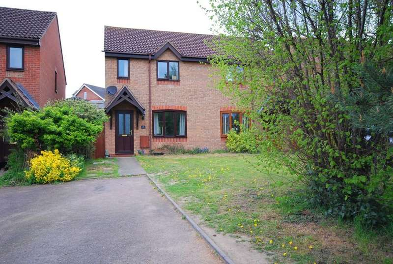 3 Bedrooms Semi Detached House for sale in Newton Flotman, Norwich