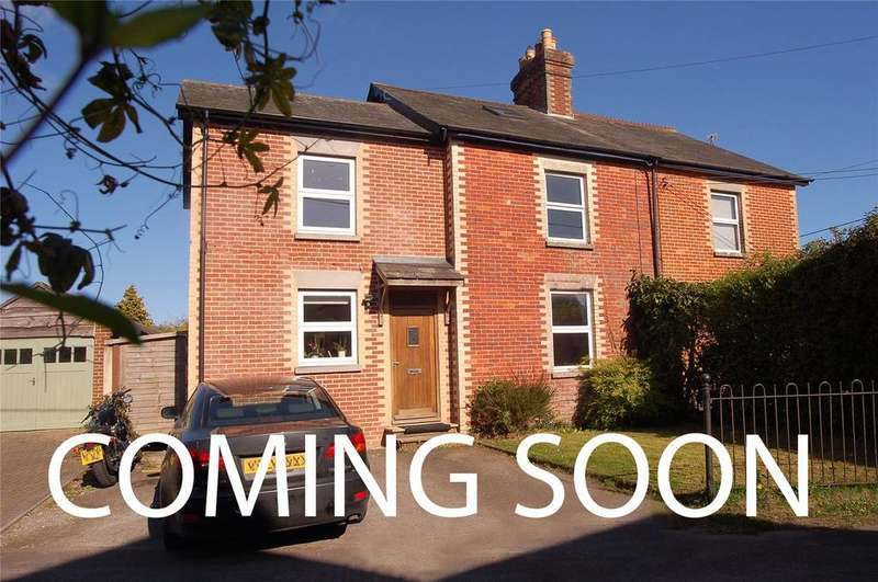 4 Bedrooms Semi Detached House for sale in Carvers Lane, Ringwood, Hampshire, BH24