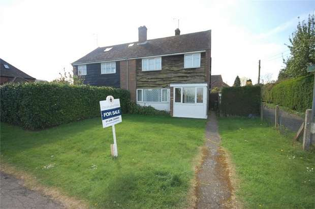 3 Bedrooms Semi Detached House for sale in Mill Close, Wingrave, Buckinghamshire