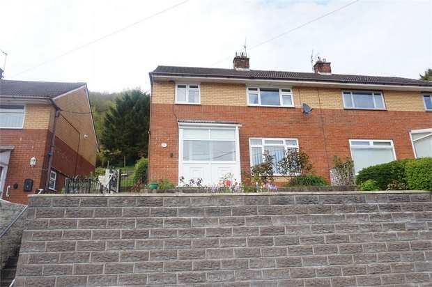 3 Bedrooms Semi Detached House for sale in Tribute Avenue, Cwmcarn, NEWPORT, Caerphilly