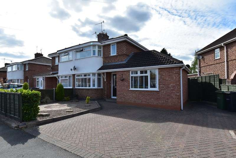4 Bedrooms Semi Detached House for sale in Worboys Road, Worcester
