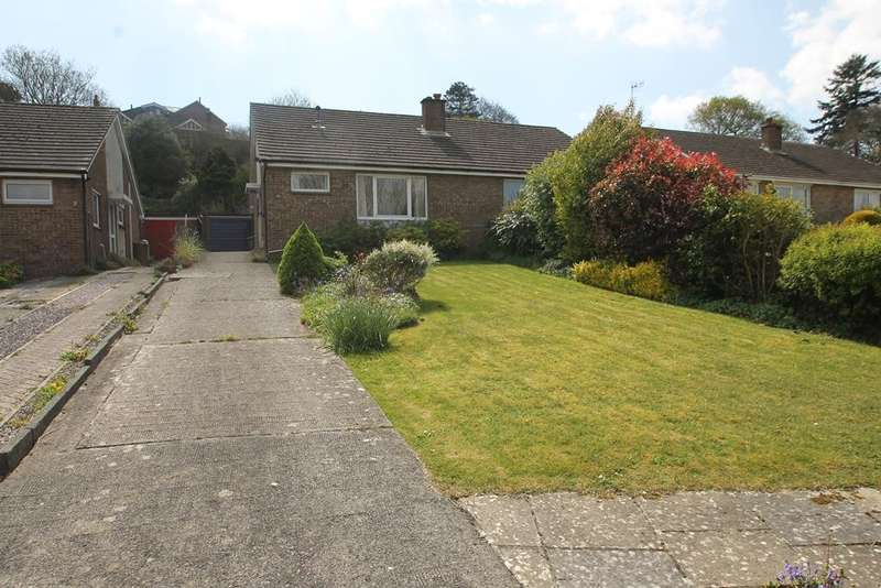 2 Bedrooms Semi Detached Bungalow for sale in Elburton