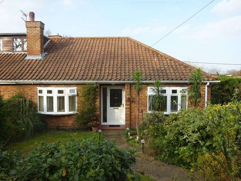 3 Bedrooms Semi Detached Bungalow for sale in Fakenham Road, Taverham, Norwich