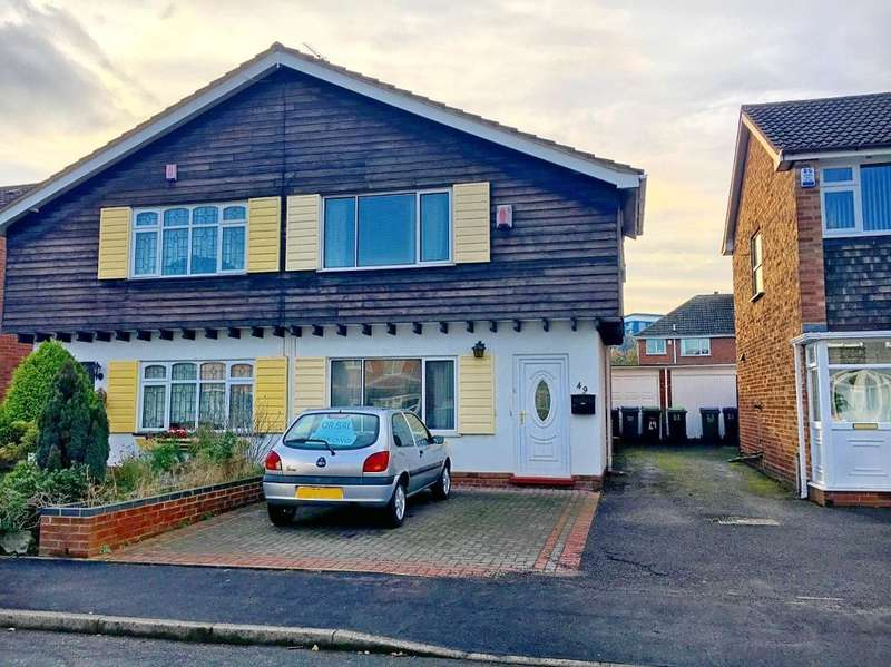 3 Bedrooms Semi Detached House for sale in RAYFORD DRIVE, WEST BROMWICH, WEST MIDLANDS, B71 3QW