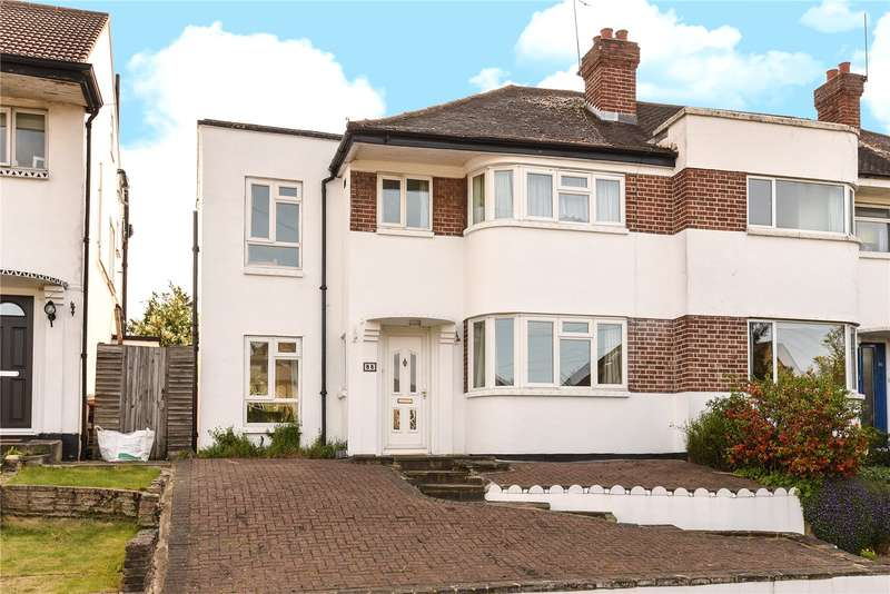 4 Bedrooms End Of Terrace House for sale in Harefield Road, Uxbridge, Middlesex, UB8