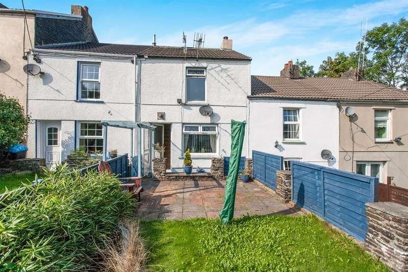 2 Bedrooms Terraced House for sale in Harriet Town, Troedyrhiw, Merthyr Tydfil