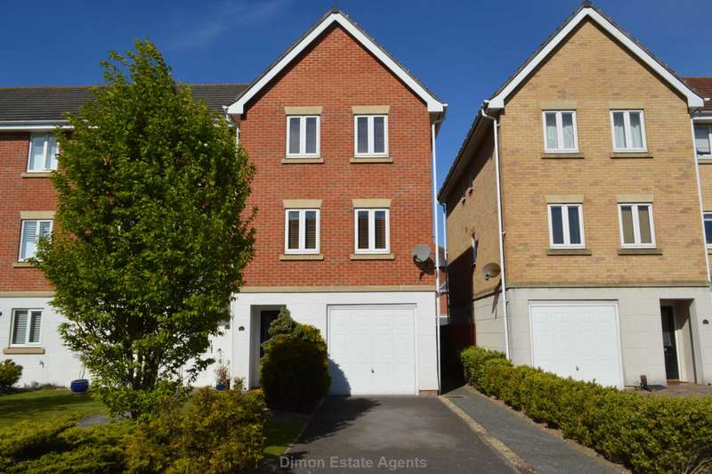 4 Bedrooms End Of Terrace House for sale in Vanguard Road, Priddy`s Hard