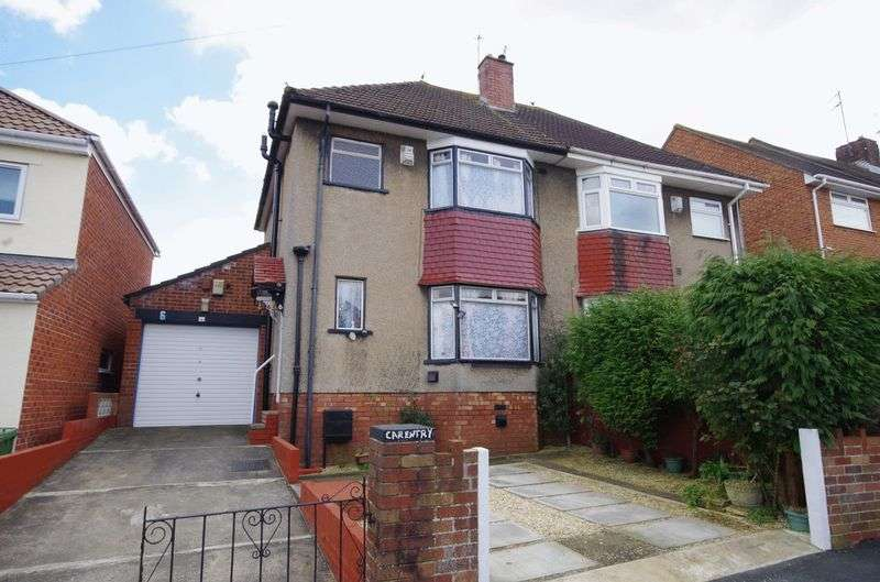 3 Bedrooms Semi Detached House for sale in Mayville Avenue, Filton, Bristol
