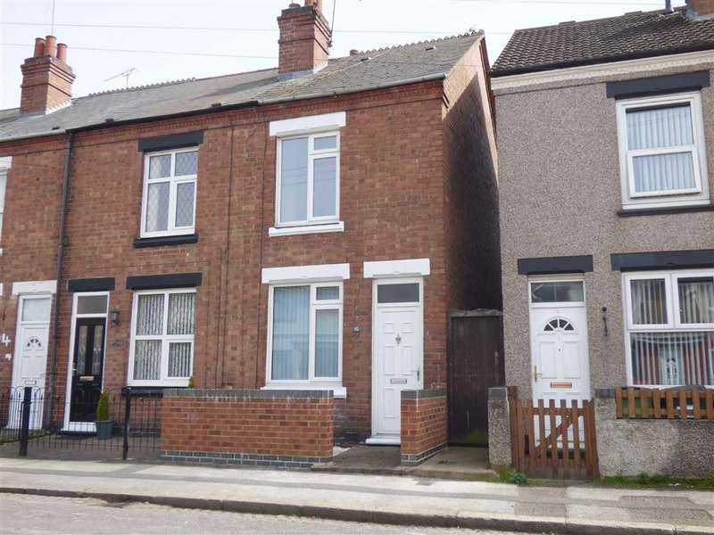 2 Bedrooms End Of Terrace House for sale in Teneriffe Road, Coventry