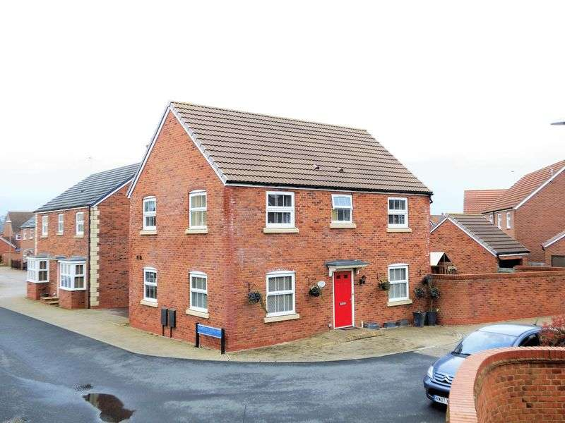 4 Bedrooms Detached House for sale in Wainfleet Avenue Kingsway, Quedgeley, Gloucester