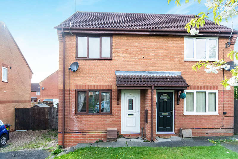 2 Bedrooms Semi Detached House for sale in Bailey Brook Crescent, Langley Mill, Nottingham, NG16
