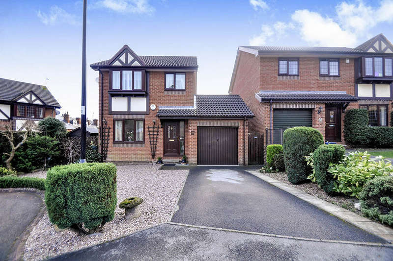 3 Bedrooms Detached House for sale in Thornbrook Close, Chapeltown, Sheffield, S35