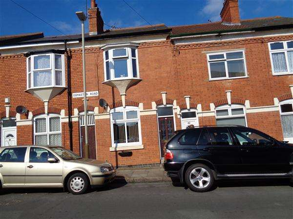3 Bedrooms Terraced House for sale in Osmaston Road