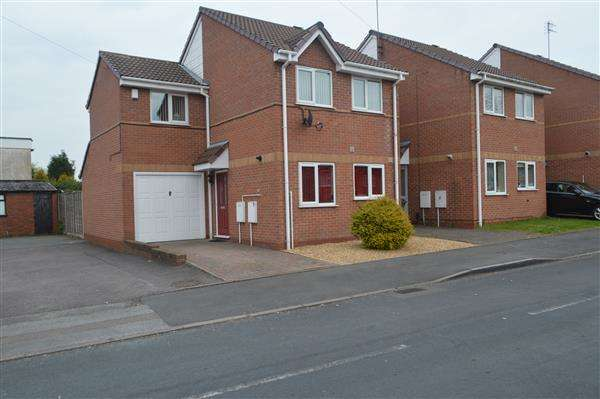 3 Bedrooms Link Detached House for sale in Pauls Coppice, Walsall Wood, Walsall