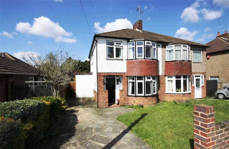 3 Bedrooms Semi Detached House for sale in Jersey Drive, Petts Wood