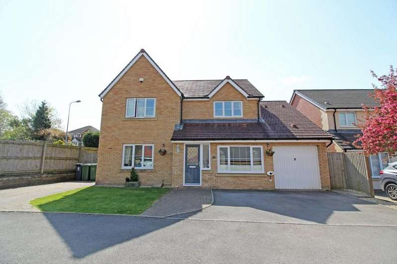 4 Bedrooms Detached House for sale in Meadowfield Way, Morganstown