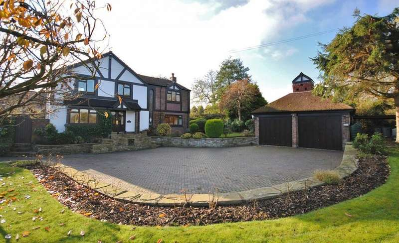 4 Bedrooms Detached House for sale in Withinlee Road, Prestbury