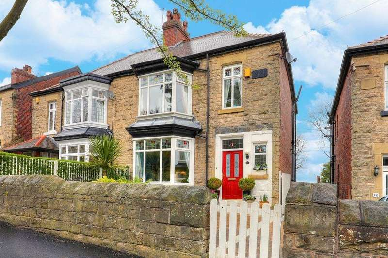 3 Bedrooms Semi Detached House for sale in 52 Banner Cross Road, Banner Cross, Sheffield S11