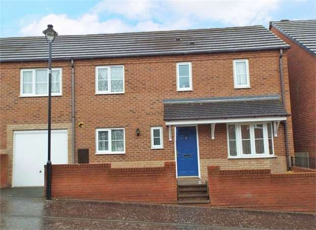 3 Bedrooms Semi Detached House for sale in Whitebeam Way, Nuneaton, Warwickshire