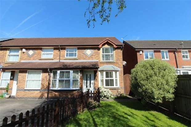 3 Bedrooms Semi Detached House for sale in Amy Johnson Close, Newport
