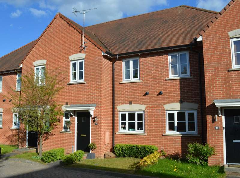 2 Bedrooms Terraced House for sale in Fallows Road, Aldermaston Wharf, Reading, RG7