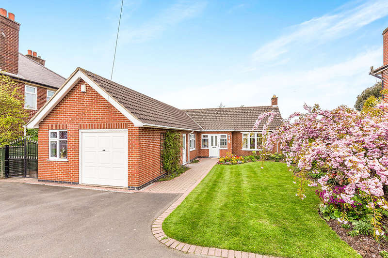 2 Bedrooms Detached Bungalow for sale in Bardon Road, Coalville, LE67