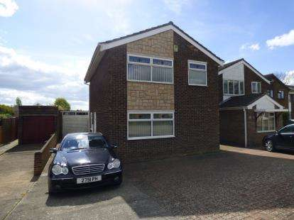 3 Bedrooms Detached House for sale in Obelisk Rise, Kingsthorpe, Northampton, Northamptonshire