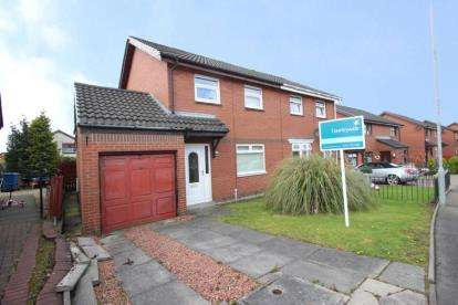3 Bedrooms Semi Detached House for sale in Queensby Road, Baillieston, Glasgow, Lanarkshire