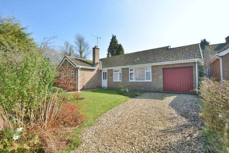 3 Bedrooms Detached Bungalow for sale in Castle Hill, Welbourn, Lincoln