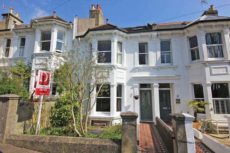 4 Bedrooms Terraced House for sale in Southdown Road, Brighton BN1