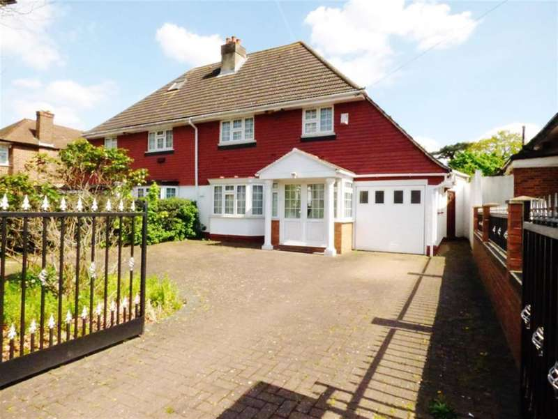 4 Bedrooms Semi Detached House for sale in Firs Drive , TW5 9TA