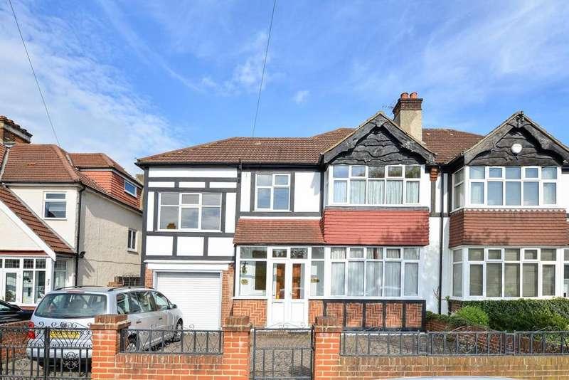 5 Bedrooms Semi Detached House for sale in Oak Avenue, Croydon, CR0