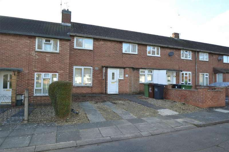 2 Bedrooms Terraced House for sale in Sulgrave Drive, Corby, Northamptonshire