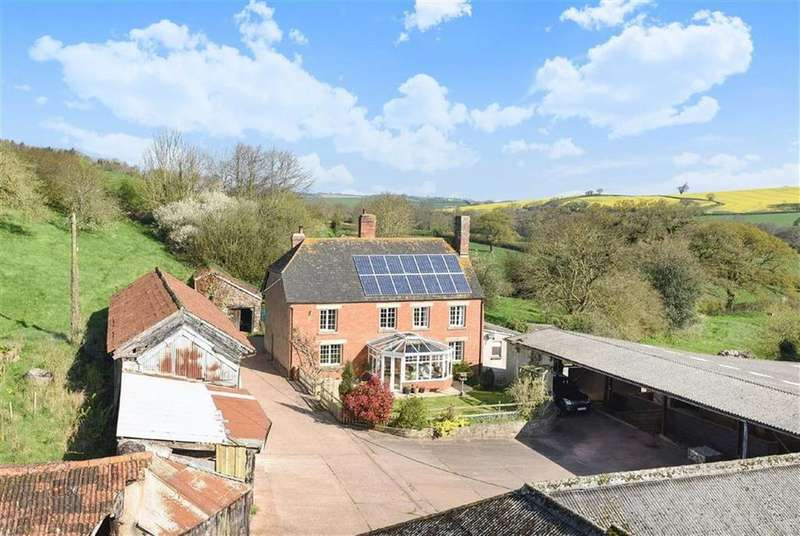 5 Bedrooms Land Commercial for sale in Long Barn, Sandford, Crediton, Devon, EX17