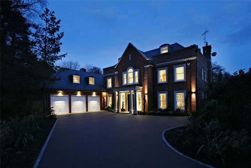 7 Bedrooms Detached House for sale in Monks Drive, Ascot, Berkshire, SL5