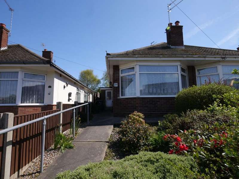 2 Bedrooms Semi Detached Bungalow for sale in Shrublands Way, Gorleston, Great Yarmouth