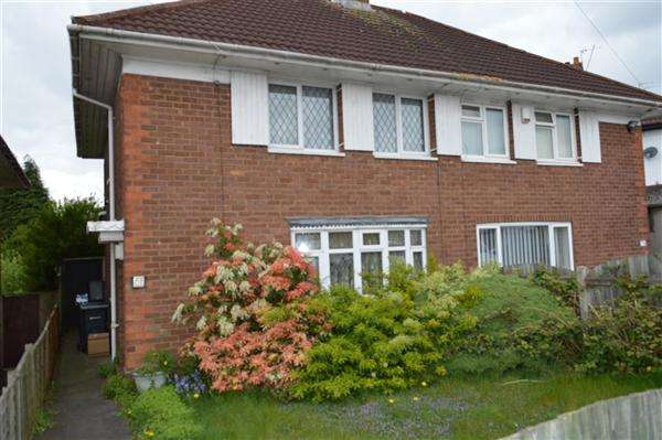 2 Bedrooms Semi Detached House for sale in Kettlehouse Road, Kingstanding, Birmingham