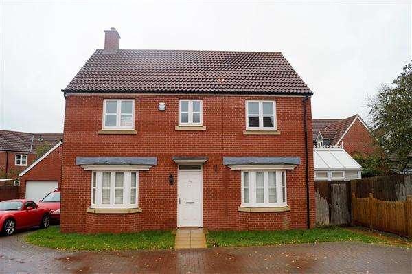 4 Bedrooms Detached House for rent in Blackcurrant Drive, Long Ashton, Bristol