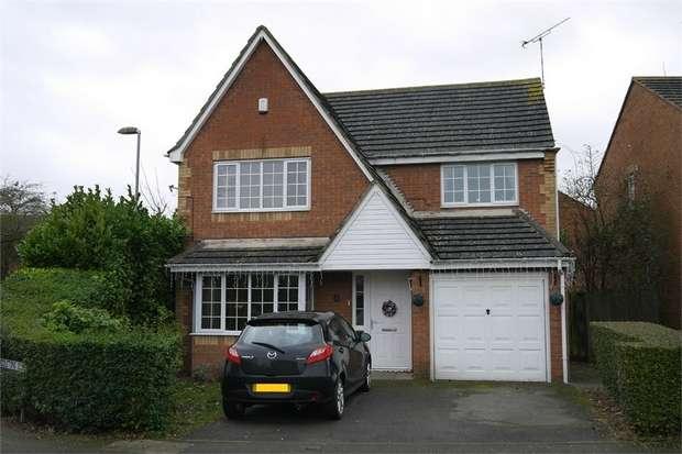 4 Bedrooms Detached House for sale in Middletons Close, Fleckney, Leicester