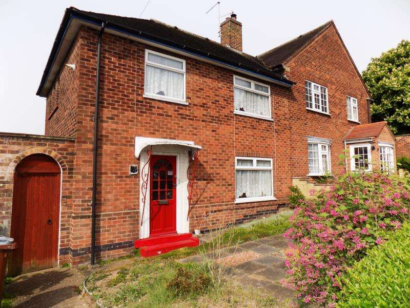3 Bedrooms Semi Detached House for sale in Henley Rise, Sherwood, Nottingham, Nottinghamshire